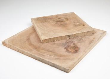 Plastry drewniane, dębowe 420 mm