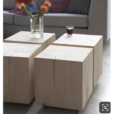 Stoliki drewniane kawowe